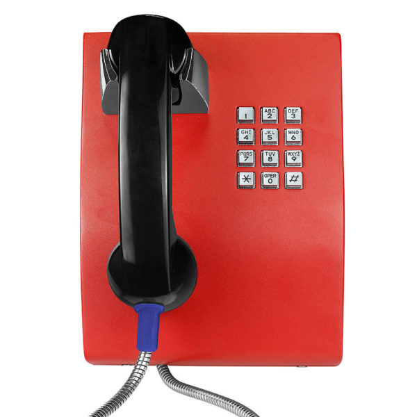 Vandal-proof telephone / weatherproof / IP65 / IP54